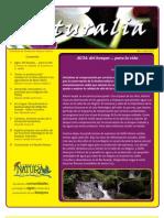 Boletín Naturalia No.1 - 2011