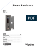 SQUARE D NF PANELBOARD