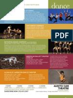 2011-2012 Subscription Season Description