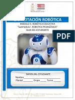Capacitación de Robótica.- Cuarto Semestre.- Guía Didáctica Estudiante