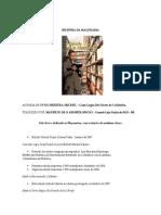 Historia Da Maçonería  (Portugués)
