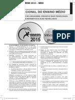 SAS ENEM 2015 - S1 Dia 2