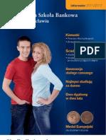 Informator 2011 - Studia II stopnia - Wyższa Szkoła Bankowa we Wrocławiu