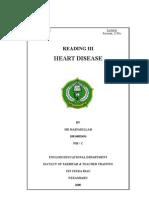 heart disease..reading 3