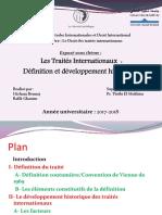 Les Traités Internationaux - Définition Et Développement Historique PDF