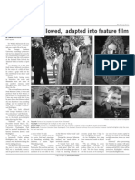 Short story, 'Followed,' adapted into feature film