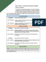 Programa Jornadas Doctorado en Agricultura Protegida