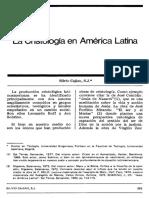 Cristología en America