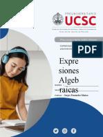 """Guía Nº10 """"Expresiones Algebraicas"""""""