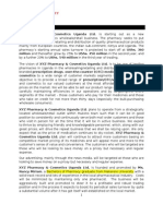 OUTLINE OF XYZ PHARMACY & COSMETICS UGANDA LTD  BUSINESS PLAN(3)