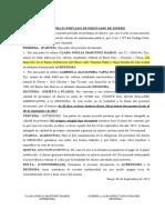 CONTRATO PRIVADO DE PRESTAMO DE DINERO GABRIELA ALEJANDRA TAPIA DONAIRE