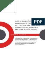6.3 Guia de Simplificacion Administrativa y Determinación de Costos de Procedimientos Administra