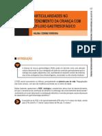 PARTICULARIDADES NO ATENDIMENTO DA CRIANÇA COM REFLUXO GASTRESOFÁGIC