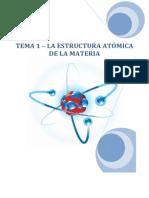 Tema 01 - Estructura atomica
