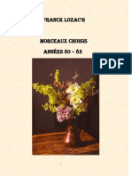 Morceaux Choisis III