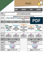 Emploi Du Temps 2017 2018 Classe de TPS PS MS