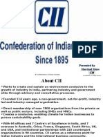 CII's Agenda for 2010 - 2011- Harshad More