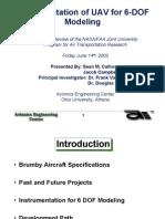 UAV instrumentation