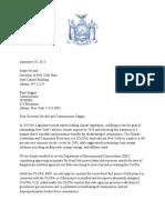 Legislative Letter To DEC Regarding Title V Air Permits