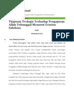 Imanuel_ Tinjauan Teologis Terhadap Pengajaran Allah Tritunggal Menurut Erastus Sabdono