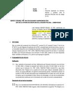 APELACIÒN - SANCIÓN DISCIPLINARIA - Menor Reque Hartman