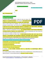 Roteiro de Estudos II - Direito Constitucional I - Agosto 2021
