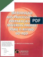 Pdfabm Introduao Aos Processos de Preparaao de Materias Primas Para o Refino Do Ao PDF Compress