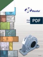 Catálogo - Caixa para Rolamento (Mancais) - HENFEL