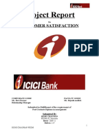 Icici bank home loan project report