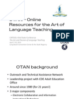OTAN - Online Resources for the Art of Language Teaching