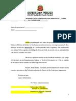 Modelo de Petição  Apelação (pelo réu) - liberdade de expressão - publicação em blog - inocorrênica de dano moral