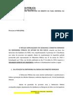 Letalidade policial pedido de desarquivamento caso Sao Remo docx