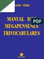 Manual Dos Megapensenes Trivocabulares - Waldo Vieira