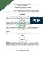 Ley de la Comision de Derechos Humanos del Congreso de la Republica y del Procurador Decreto 54-86