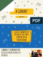 TIPS PARA SALIR a GRABAR. CINE. Sebastien Tejada. 2021. Presentación Educativa
