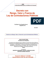ANALISIS ARTICULADO - LEY DE CONTRATACIONES PUBLICAS (D.5929)