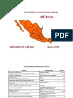 Información laboral (mar 2020)