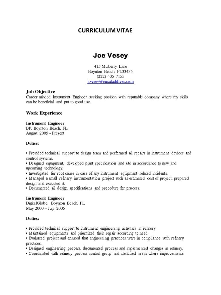 resume engineering sample instrumentation design engineer sample resume instrumentation designer sample resume word formal letter template - Car Design Engineer Sample Resume
