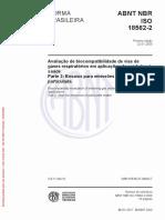 ABNT NBR ISO 18562-2