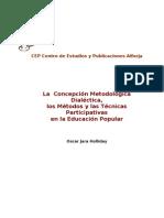 Metodologia Metodos y Tecnicas EP_Oscar Jara