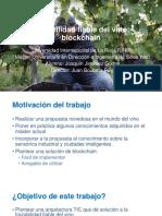 Trazabilidad fiable del vino_Blockchain_Presentación