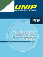 Manual de Atividade de Estágio - Gestão da Educação em Ambientes Não Escolares