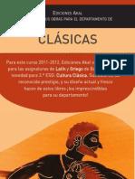 Cultura clásica / Ediciones Akal