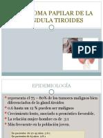 Carcinoma Papilar de Gla. Tiroides