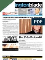 washingtonblade.com - volume 42, issue 14 - april 8, 2011