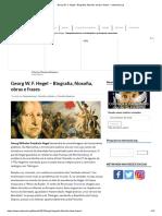 Hegel - Biografia, filosofia, obras e frases - netmundi.org