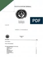 RCSD Audit Food Services