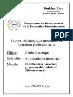 19. Automatisme Industriel_Initiation à l'Automate Programmable Industriel (Niveau Avancé) (1)