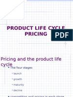 Product Lifecycle Pricing- 2011
