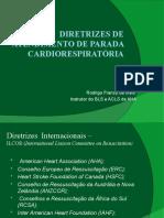 Diretrizes de Reanimação Cardiovascular